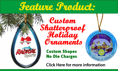 Shatterproof Seasonal Ornaments